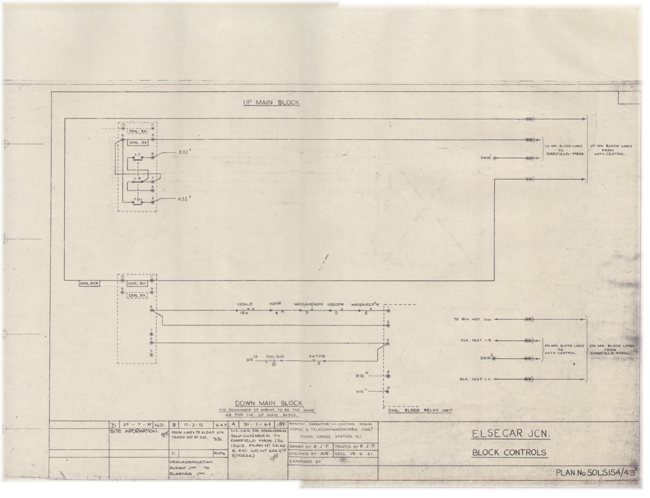 Lner Block Instruments Relay Circuit Theory Sometimes It Was Wired Without Any Controls Free