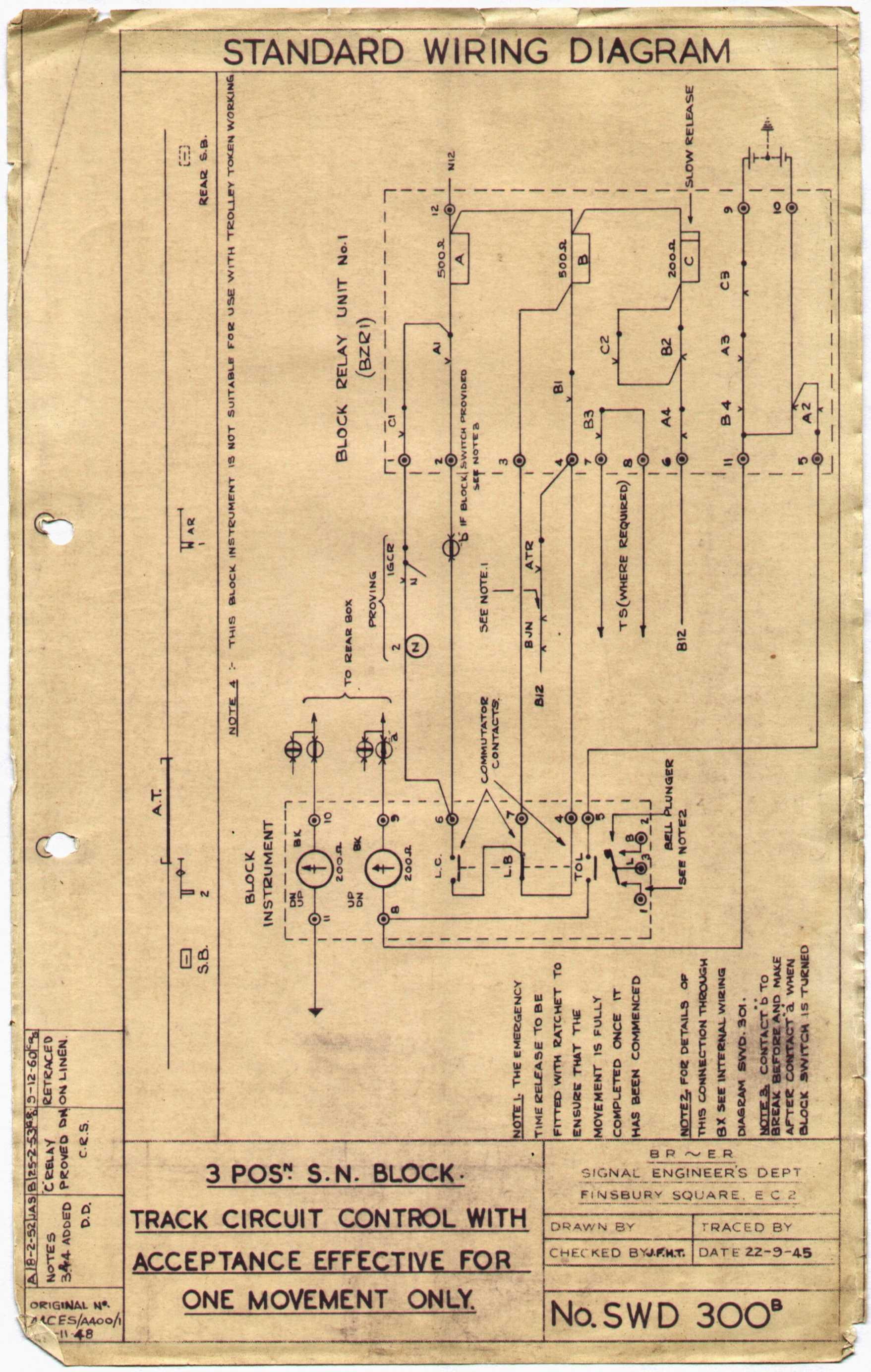 lner block instruments rh lymmobservatory net Ses Simplex Control S10020n1 Wiring 05 W4500 Wiring Radio