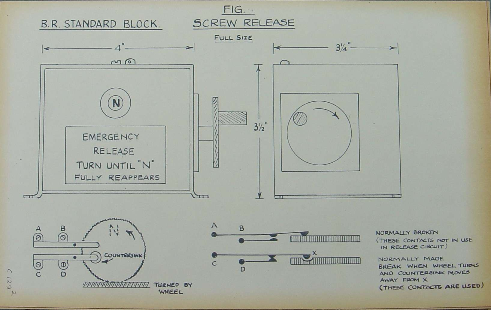 lner block instruments rh lymmobservatory net 2003 S10 Pickup Wiring railway block instrument wiring